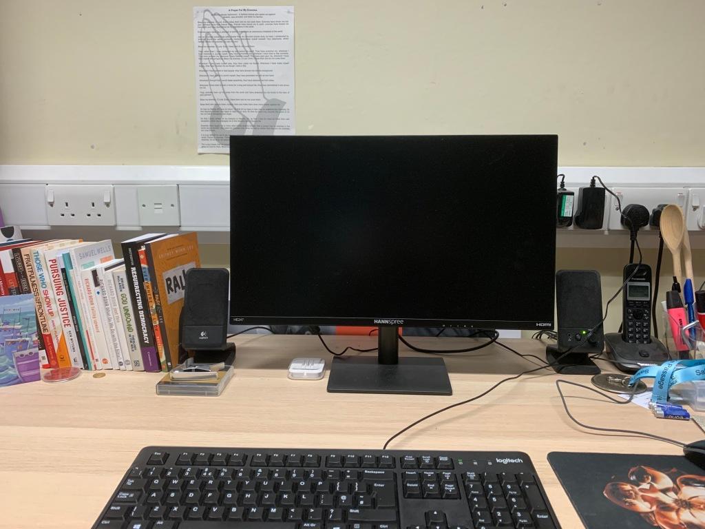 A Computer on a Desktop